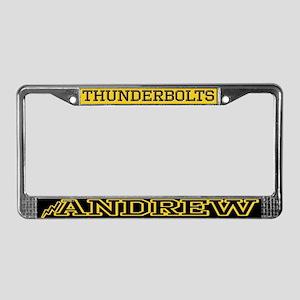 Andrew License Plate Frame