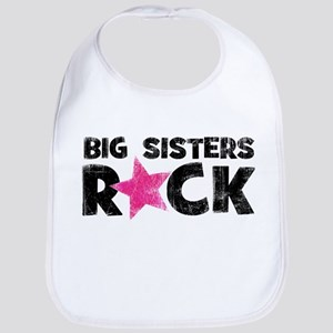 Big Sisters Rock Bib