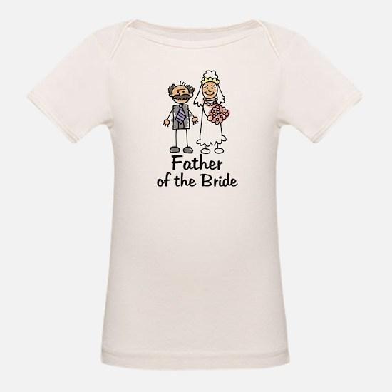 Cartoon Bride's Father Tee