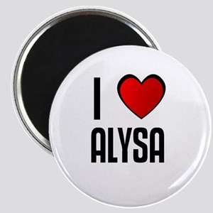 I LOVE ALYSA Magnet