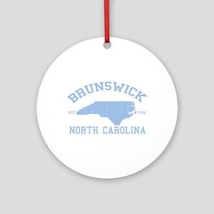 Brunswick NC Ornament (Round)