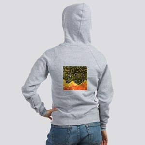 Brook Trout Fly Fishing Women's Zip Hoodie