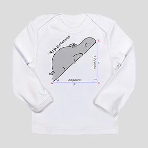 Hippopotenuse Long Sleeve T-Shirt