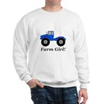 Farm Girl Tractor Sweatshirt