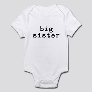 middle sister - classic type Infant Bodysuit