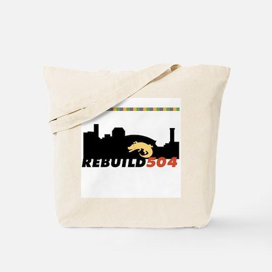 Rebuild New Orleans Alligator Tote Bag