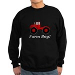 Farm Boy Tractor Sweatshirt (dark)