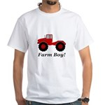 Farm Boy Tractor Men's Classic T-Shirts