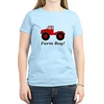 Farm Boy Tractor Women's Classic T-Shirt