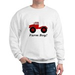 Farm Boy Tractor Sweatshirt