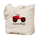 Farm Boy Tractor Tote Bag