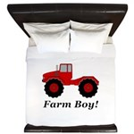 Farm Boy Tractor King Duvet