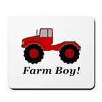 Farm Boy Tractor Mousepad
