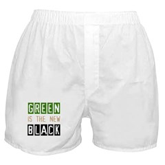 Green is the New Black Boxer Shorts