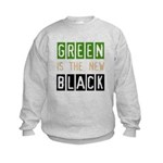 Green is the New Black Kids Sweatshirt