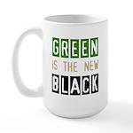 Green is the New Black Large Mug