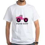 Farm Girl Tractor Men's Classic T-Shirts