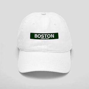 USA STREET SIGN - BOSTON - COMBAT ZONE Cap
