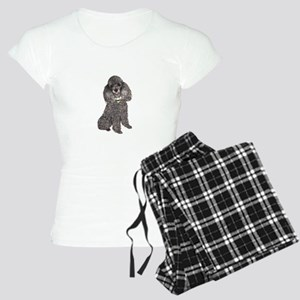 Poodle (sivler) Pajamas