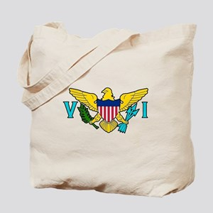 Virgin Island Tote Bag