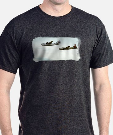B-24 and B-17 Flying T-Shirt