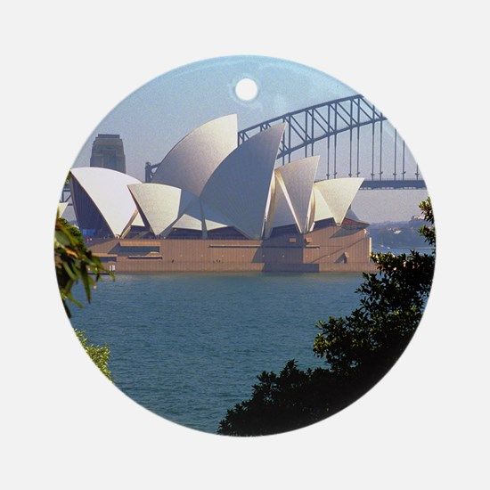 Opera House View Ornament (Round)