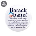 """Side Effects 3.5"""" Button (10 pack)"""
