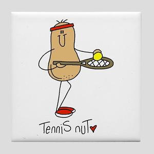 Tennis Nut Tile Coaster