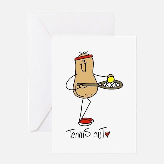 Tennis Nut Greeting Card