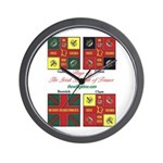 Flags/Irish Brigade France - Wall Clock