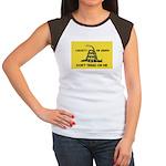 Don't Tread On Me Women's Cap Sleeve T-Shirt
