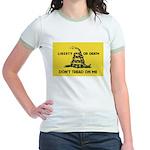 Don't Tread On Me Jr. Ringer T-Shirt