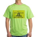 Don't Tread On Me Green T-Shirt