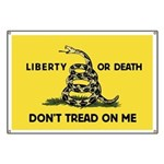 Don't Tread On Me Banner