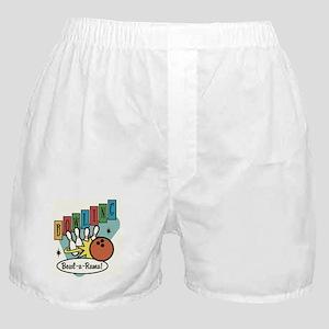 RETRO BOWLING Boxer Shorts