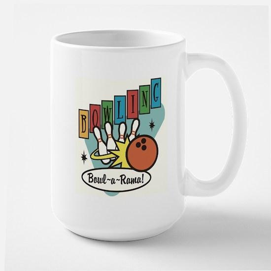 RETRO BOWLING Large Mug