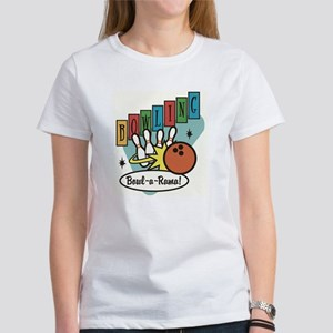 RETRO BOWLING Women's T-Shirt