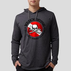 Wreck Diving (Skull) Long Sleeve T-Shirt