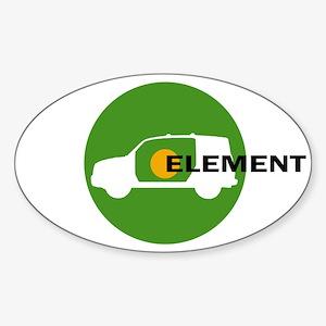 Element Lovers: Green Element Sticker