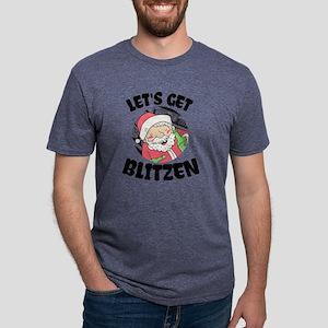 Christmas Party Funny Shirt with Santa Dri T-Shirt