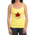 Canada Maple Leaf Souvenir Jr. Spaghetti Tank