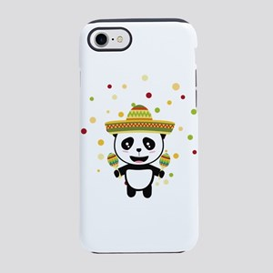 Panda Mexico Fiesta C8y7v iPhone 7 Tough Case