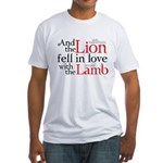 Lion Love Lamb Fitted T-Shirt