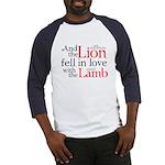 Lion Love Lamb Baseball Jersey