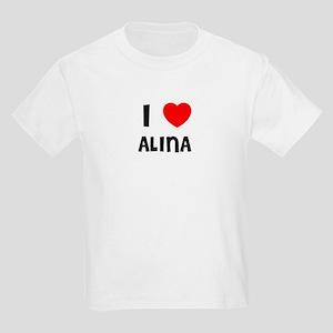 I LOVE ALINA Kids T-Shirt