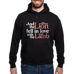 Lion Love Lamb Hoodie (dark)