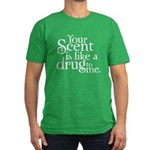 Your Scent Men's Fitted T-Shirt (dark)