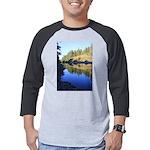 South Fork Eel River California Mens Baseball Tee