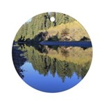 South Fork Eel River California Round Ornament
