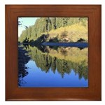 South Fork Eel River California Framed Tile